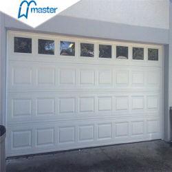 Commerce de gros d'acier isolées de sécurité automatique latérale coulissante de porte de garage sectionnelles
