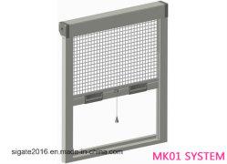 Schermo ritrattabile dell'insetto/schermo della mosca, sistema Mk01