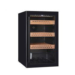 Affichage lumineux à LED 118L'armoire du refroidisseur d'affichage de verre de cigares