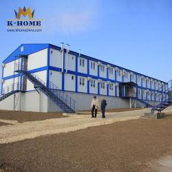 Construções prefabricadas Anti-Earthquake portátil acampamento militar Flat Pack Containers
