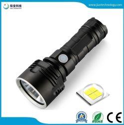 L2 /P50 de bolsillo USB de la luz LED de carga directa 26650 linterna LED de batería