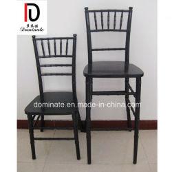 Résine de bois d'aluminium métallique Chiavari High Bar Président