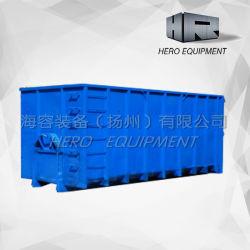 Для тяжелого режима работы металлического лома в мусорных корзинах Hooklift контейнеров