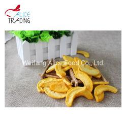 工場安い価格の揚がる自然で黄色いモモ健全な軽食の真空は100%の実を結ぶ