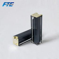 Commerce de gros 15ml 30ml 50ml Lotion acrylique carré Flacon à pompe airless