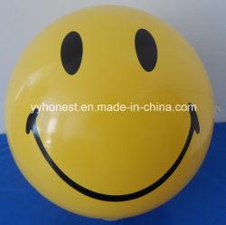 Crianças Sorriso insuflável de plástico Brinquedos de praia de rosto