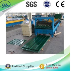 Techo de pared Metal enrolladora/Máquina laminadora