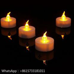 Светодиодная свеча Flameless украшения Рождественские свечи