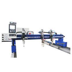 El Pórtico CNC tipo pórtico de la cortadora de llama de gas CNC Máquina de corte para acero al carbono