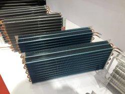 Flosse-kupfernes Gefäß-Luftkühlung-Kondensator für Selbstkühlsystem