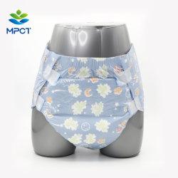 Diseño de impresión Abdl hermoso paño superiores como el cine Confort Dry ultrafino Ultra-Thick Pañal de adulto desechables de alta absorción