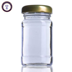 Cocina utiliza la jarra de cristal transparente con tapa de metal
