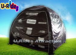 キャンプするか、または広告のための空気によって密封される膨脹可能で小さいテント