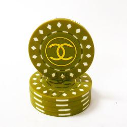 아BS Hotstamping 로고 거푸집 부지깽이 칩 도매를 위한 다채로운 룰렛 부지깽이 칩