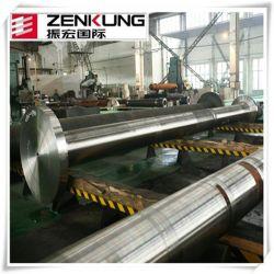 Lieferungs-Transport-Antriebsachse, Marinewelle, große Stahlpropeller-Welle mit der CNC maschinellen Bearbeitung