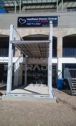 Auto Mutrade Parken OEM Mechanische vertikale Anhebung Pallet Boden Parkplatzausstattung