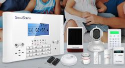 Wolf-Guard Anti-Theft Wireless GSM Home Security Alarm with Difference Talen Versie