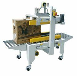 Semi-automatique Machine d'étanchéité /courroies latérales conduit le carton d'étanchéité/boîte d'étanchéité de la machine
