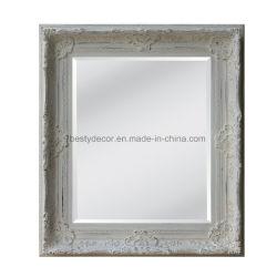ديكور الجدران إطار مرآة خشبي مزخرف Vintage