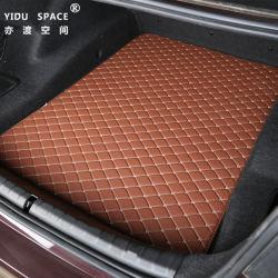 Comercio al por mayor especial de desgaste ecológicas personalizadas alfombras de cuero alfombras de maletero del coche
