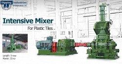 Intensivo avanzada Mezclador de Banbury para PVC Baldosa máquina de producción