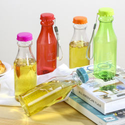 زجاجة مياه من البلاستيك سهلة الاستخدام ومريحة الاستخدام