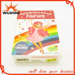 カスタマイズされた Fairies のペーパーパズルの女の子のための教育おもちゃ (WPTZ017)