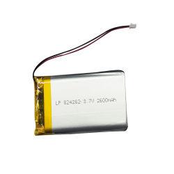 Ewt passen Lp824262 nachladbare Lipo 3.7V 2600mAh Li-Polymer-Plastik Batterie für Telefon E-Buch Batterie an