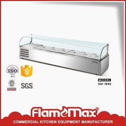 Ensalada de comercial de mostrar a la venta de equipamiento de cocina (ISD-1800)