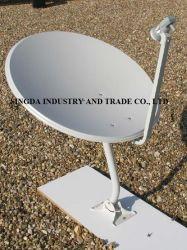 SGS 증명서를 가진 75cm Ku 악대 위성 접시