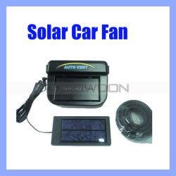 Noir Ventilateur auto voiture solaire solaire avec le décapage de caoutchouc (ventilateur-01)