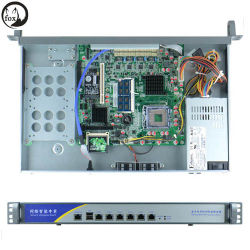 Intel G41 6バイパスのギガビットLAN 1uファイアウォールサーバー