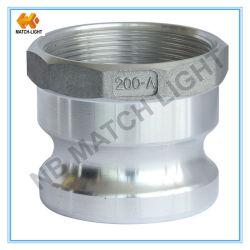 Montage van Camlock van het Aluminium van de adapter de Vrouwelijke BSPP Ingepaste (Type A)