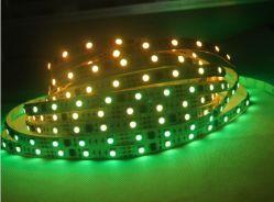 شريط مرن LED مقاوم للمياه Ws2811 IC Digital RGB بجهد 12 فولت مقاوم للمياه