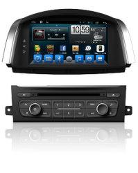 Sistema di percorso Android dell'automobile 2DIN DVD GPS per Renault Koleos