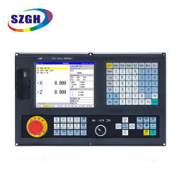 محور 2 رخيصة سي إن سي لاث المراقب آلة الدوران 2 نظام PLC لمجموعة مجموعة أدوات لوحة التحكم في المحور بالكامل