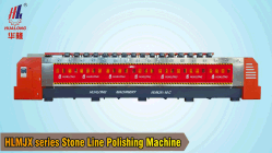 Hlmjx-12c Automatische mehrere Köpfe Granit Fliesen Poliermaschine