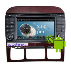 Android 4.0 Car Stereo DVD Player for Mercedes Benz S-Class