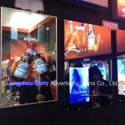 Bekanntmachen LED-Beleuchtung-magischer Spiegel-des wasserdichten Magie LED Fernsehapparat-Spiegels