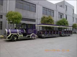 Eléctrico Trackless diversiones Tren en venta