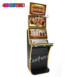 Amusement Buffalo Gold Casino de jeu vidéo électronique de la fente du Cabinet de la machine