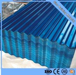 مواد البناء PPGI مواد الطلاء طلاء المعدن ورقة السقف مسبقا ورقة سقف من الصلب المموج