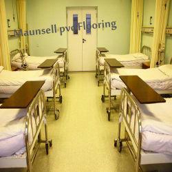 L'hôpital / PVC avec rouleau de vinyle /Feuille de revêtement de sol