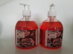 Sabonete de romã líquido natural na marca do OEM