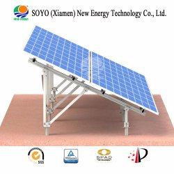 Eco Friendly rack au sol en aluminium Panneau solaire