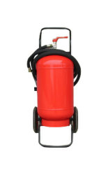35kg extintor de polvo de ruedas.