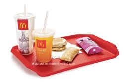 Bandeja de comida rápida de plástico para Restaurante
