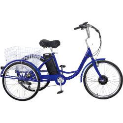 Tuk Tuk partes separadas de elevador eléctrico Rickshaw adulto 3 Bicicleta Elétrica da Roda