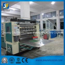 Dimension personnalisé Type d'emballage en papier-tissu doux visage de replier la machine