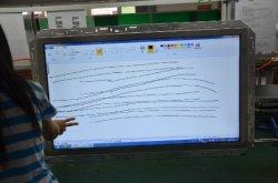 De multi Uitrusting VGA LCD van de Bekleding van de Aanraking van het Kader van Pog van 55 Duim Open met Vatting (winnen-OP10.4R)